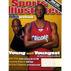 Illustrated October 30 2000 Kevin Garnett & Darius Miles/Los Angeles