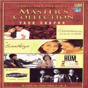Songs/ Mohabbatein/ Saathiya/ Hum Tum/ Dhoom) Various Music