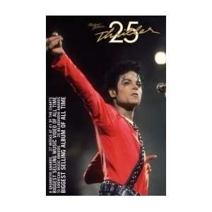 MICHAEL JACKSON Thriller 25th Anniversary Music Poster