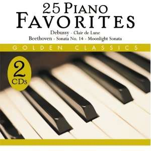 25 Piano Favorites Frederic Chopin, Ludwig van Beethoven