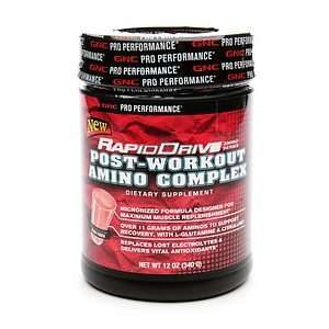 GNC Pro Performance RapidDrive Post Workout Amino Complex, Fruit Punch