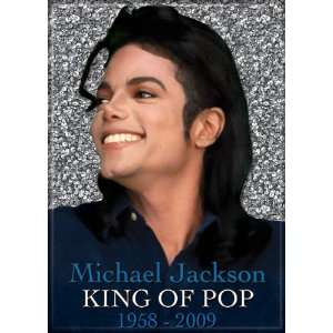 Michael Jackson King Of Pop 1958 2009 Magnet 20434MJ