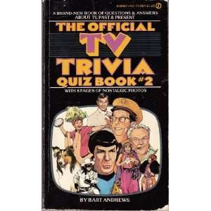 Official TV Trivia Quiz Book 2 (9780451071873) Bart