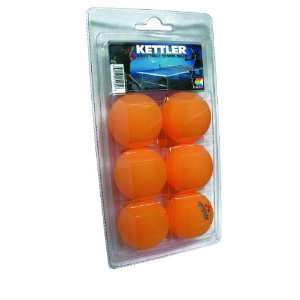 Kettler 6 Star Table Tennis Balls, 144  Pack Sports