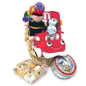 Baby Boy Gift Basket Fireman Themed