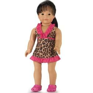 or a Day at the Beach  Fits 18 Inch American Girl Dolls Toys & Games