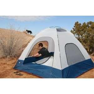 Black Pine Big Country 3 man Tent (White/Blue)  Sports