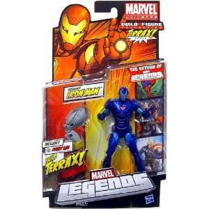 Marvel Legends 2012 Series 1 Action Figure Extremis Iron Man {Stealth
