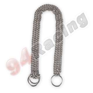 650P Dog Training Stainless Steel Chain Collar 22