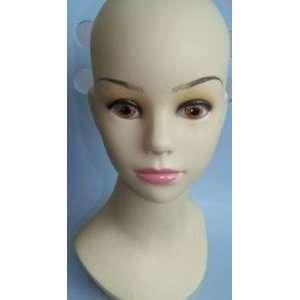 Child Kid Teenage girl Mannequin Head for Display cap hat