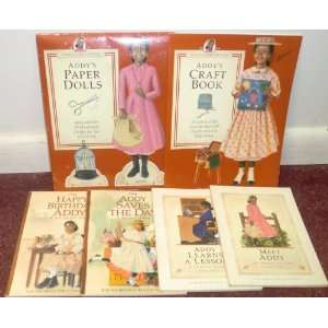 American Girl ~ ADDY ~ Set of 6 Books (Meet, Learns a Lesson, Birthday