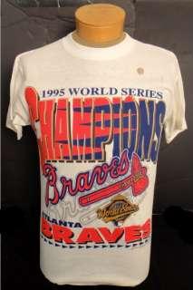 MLB ATLANTA BRAVES 1995 WORLD SERIES CHAMPIONS T SHIRT