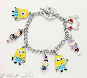 DESPICABLE ME collectable Minion Girl Unicorn Bracelet
