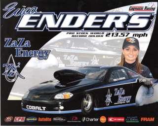 2011 ERICA ENDERS ZA ZA ENERGY 2ND VER.HANDOUT/POSTCARD