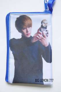 Kyuhyun ~ MR.SIMPLE SUPER JUNIOR Zip Mobile Phone Case Pouch P7