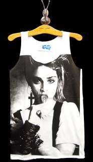 MADONNA Lollipop 80s Pop Icon Rock Tank Top T Shirt S/M