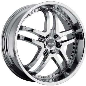 Dante 5x112 +32mm Phantom Chrome Wheels Rims Inch 22 Automotive