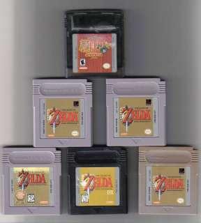 ZELDA Oracle Of Seasons Gameboy Color endless fun 045496731373