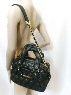 NWT JUICY COUTURE Gold Chain Link Black Bag Handbag