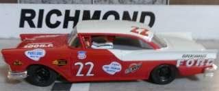 Fireball Roberts 1957 FORD 1/24th Scale Custom Built Slot Car