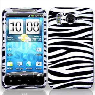 Zebra Hard Case Cover for HTC Inspire 4G AT&T Phone