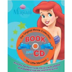 Little Mermaid Book & CD (Disney Book & CD) (9781407561356) Books
