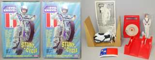 Evel Knievel 1975 Ideal Stunt Cycle Set 3rd Issue MIB