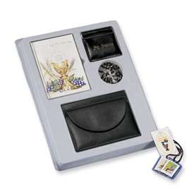 New Religious Deluxe Boy First Communion Set Gift
