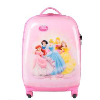 Disney Princess 18 Luggage Bag Baggage Trolley Roller
