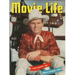 MOVIE LIFE GENE AUTRY ON COVER JULY 1941 ELIZABETH LOCKWOOD Books