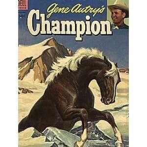 Gene Autrys Champion (1950 series) #12: Dell Publishing: Books