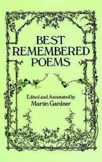 Best Remembered Poems by Martin Gardner, Dover