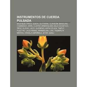 cuerda pulsada: Bajo eléctrico, Guqin, Guitarra, Clavecín, Bandura