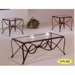 Spider 3pc Coffee/End Table Set ( w/7789GL) Home