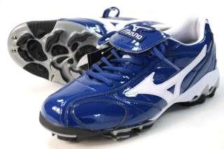 New Mizuno Baseball Cleats Navy Mens Sz 9 Softball