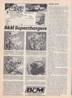 1972 Chevy Chevelle SS Pro Street Article From 1988