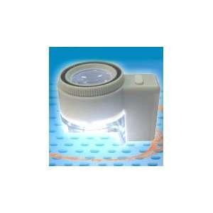 8x Power, 1 Dia. LED Illuminated, Adjustable Scaled Measuring
