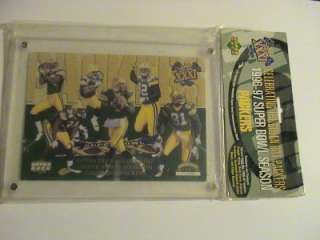 Huge Brett Favre Green Bay Packers Auto GU Mag Lot
