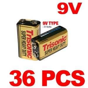 9 Volt 9V Batteries Long Lasting Life Heavy Duty New Super