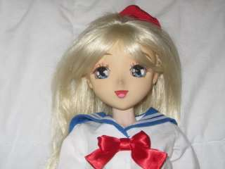 Super Dollfie OOAK Anime Style Head SD 60cm Sailor Moon Venus