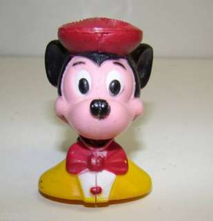 Vintage Disney Mickey Mouse Yellow Bubble Pipe