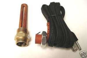Block heater kit 2007 2010 Ford Powerstroke 6.4L Diesel