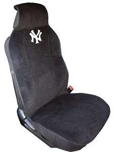 NEW YORK YANKEES MLB Poly Velour Car Seat Cover NEW