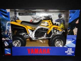 NewRay Yamaha Banshee ATV 2006 Yellow 1/12