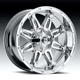 Fuel Offroad Hostage Chrome 20x9 2004 2011 Ford F150