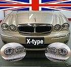jaguar x type chrome head light 2002 03 04 to