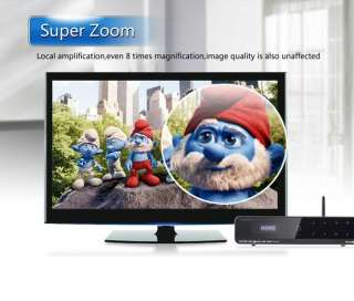 Full HD 1080p 3D Android Blu Ray Media Player WiFi N Built in