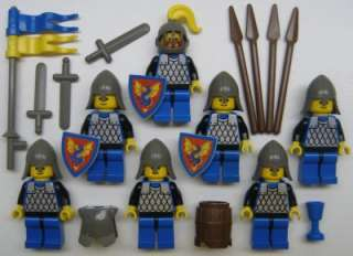 LEGO CASTLE DRAGON KNIGHTS MINIFIGS LOT kingdom royal classic rare