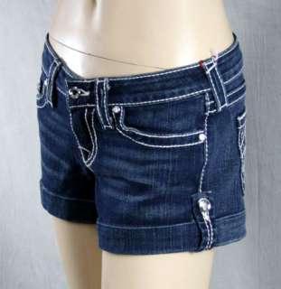 True Religion Jeans Brand denim shorts DISCO Jess Big T DAKOTA SKY 26