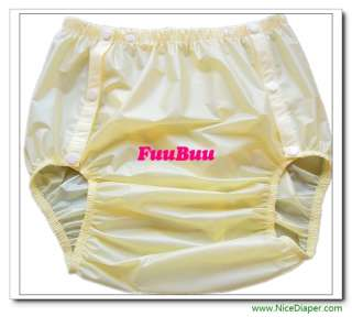 FuuBuu2203 2x Incontinence SNAP ON Adult Baby Diapers Plastic Pants